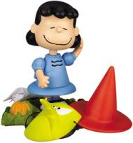 Peanuts Collectibles - Lucy Van Pelt from It's The Great Pumpkin Charlie Brown Action Figure
