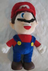 Nintendo - Mario Talking Plush
