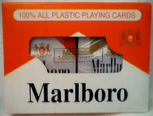 Cigarette Collectibles - Marlboro and Marlboro Lights Playing Cards