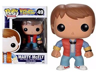 80's Movie Collectibles - Back to the Future Marty McFly POP! Vinyl Figure