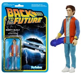 80's Movie Collectibles - Back to the Future Marty McFly ReAction Figure