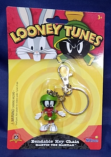 Looney Tunes Collectibles - Marvin the Martian Bendable Keyring Key Chain