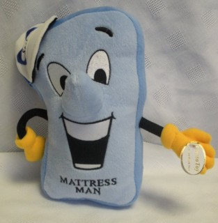 Advertising Collectibles - Sealy Mattress Man Plush Beanie