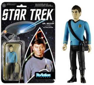 Star Trek Collectibles - Doctor Bones McCoy ReAction Figure