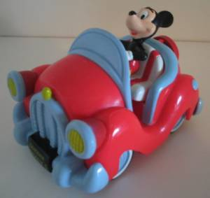 Walt Disney Collectibles - Mickey Mouse Friction Racer Car