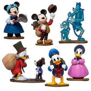 Disney Movie Collectibles - Mickey's Christmas Carol Figure Set