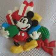 Walt Disney Collectibles - Mickey Mouse Christmas Pin