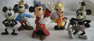 Disney Collectibles - Mickey Mouse Christmas XMas Tree Ornaments