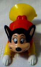 Cartoon Collectibles - Mighty Mouse Suction Cup Figure Wendys