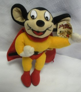 Cartoon Collectibles - Mighty Mouse Plush