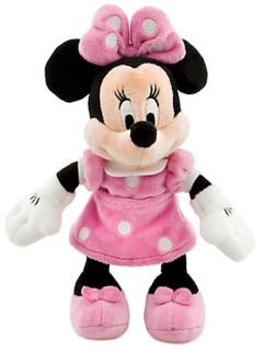 Disney Movie Collectibles - Minnie Mouse Plush Bean Bag Character
