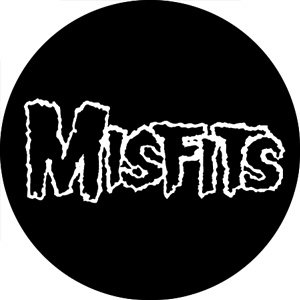 The Misfits Logo Pinback Button