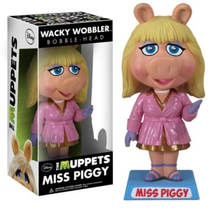 Muppets Collectibles - Miss Piggy Bobblehead Doll