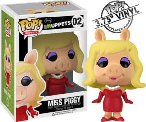 Muppets Collectibles - Miss Piggy Pop! Vinyl Figure