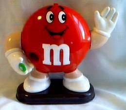 Advertising Collectibles - M & M Red Dispenser