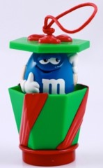 Advertising Collectibles - M & M Red Light up Topper / Ornament