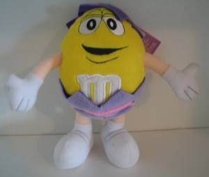 Advertising Collectibles - M & M Easter Plush Yellow