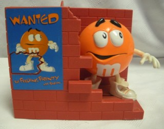 Advertising Collectibles - M & M Feeding Frenzy Dispenser