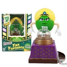 Advertising Collectibles - M & M Fun Fortunes Dispenser