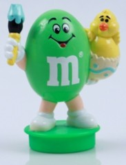 Advertising Collectibles - M & M Easter Toppers