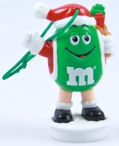 Advertising Collectibles - M & M Christmas Topper Ornament