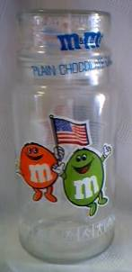 Advertising Collectibles - M & M Olympic Jar