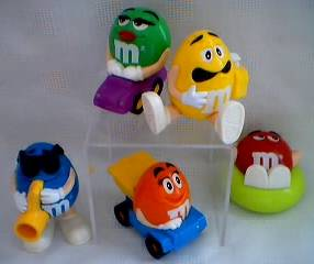 Advertising Collectibles - M & M Candy Dispenser