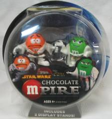 Advertising Collectibles - M & M Star Wars Chocolate Mpire
