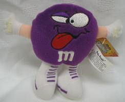 Advertising Collectibles - M & M Purple Swarmie Plush