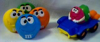 Advertising Collectibles - M & M Rolling Toys