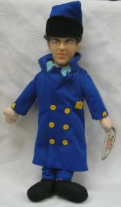 3 Stooges Collectibles - Three Stooges Moe Police Doll