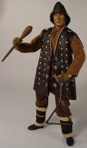 Movie Collectibles - Monty Python Holy Grail Action Figure Doll - The Dead Collector, Bring Out Your Dead... I'm Not Dead