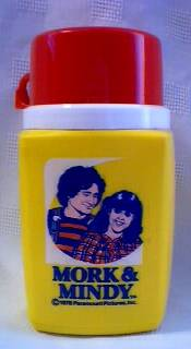 Television Character Collectibles - Mork and Mindy Thermos