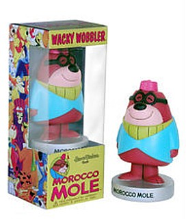 Hanna Barbera Collectibles - Morocco Mole Bobblehead Doll