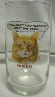 Advertising Collectibles - Morris The Cat 9 Lives Glass