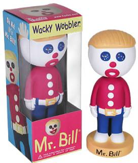 Mister Bill, Saturday Night Live - Ooh No! It's Mr. Bill Bobble Head Nodder Doll