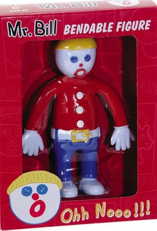 Mister Bill, Saturday Night Live - Ooh No! It's Mr. Bill Bendy Figure