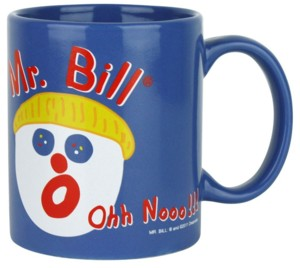 Mister Bill, Saturday Night Live - Ooh No! It's Mr. Bill Ceramic Coffee Mug