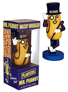 Planters Collectibles - Mister Peanut Bobble Head Doll Nodder