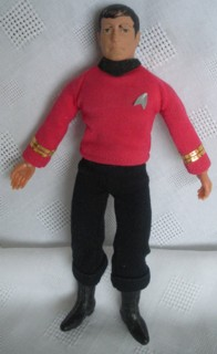 Star Trek Collectibles - Mr. Scott Scotty, Scottie Mego Action Figure Doll