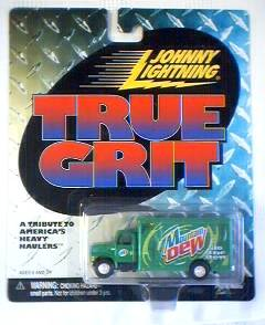 Mountain Dew Collectibles - Mountian Dew Johnny Lightning Die Cast Van