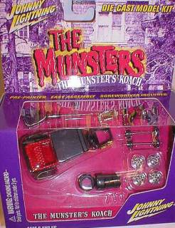 Television from the 1970's Collectibles - The Munsters Koach Diecast Car Model Kit