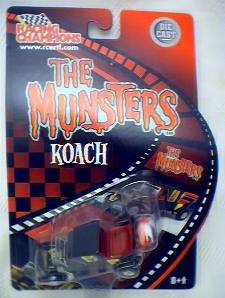 Television from the 1970's Collectibles - The Munsters Koach Diecast Car