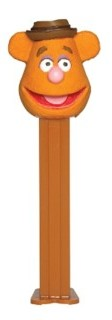 Muppets Collectibles - Fozzie Bear Pez Dispenser