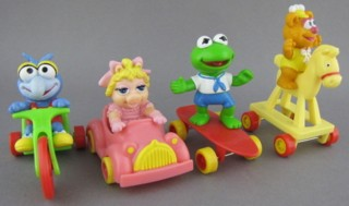 Muppets Collectibles - Muppets Babies McDonalds Set