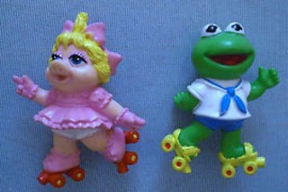 Muppets Collectibles - Muppets Babies McDonalds Set Under 3