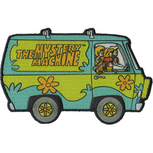 Cartoon Television Character Collectibles - Hanna Barbera's Scooby Doo Mystery Machine Patch