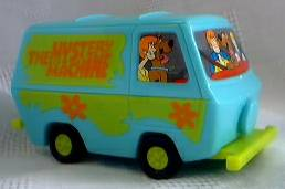 Scooby Doo Collectibles - Mystery Machine Pull-Back Car