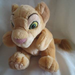 Walt Disney Movie Collectibles - Lion King Nala Plush Hand Puppet