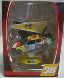 NASCAR Collectibles - Billy Gilliland #38 M&M Car Christmas Ornament